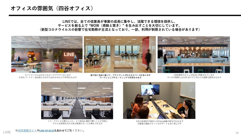 評価制度 28 LINEでは、「P-Review」と「C-Review」の2つの仕組みを軸に評...