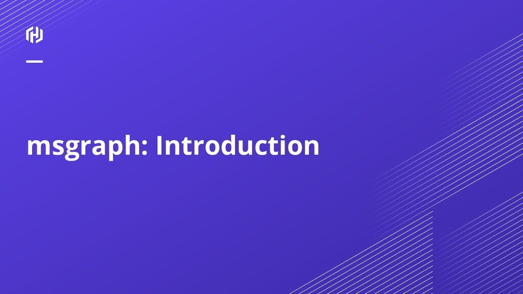 msgraph: Introduction