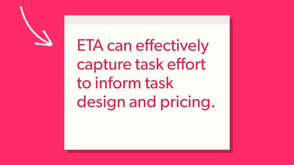 ETA can effectively capture task effort to inform...