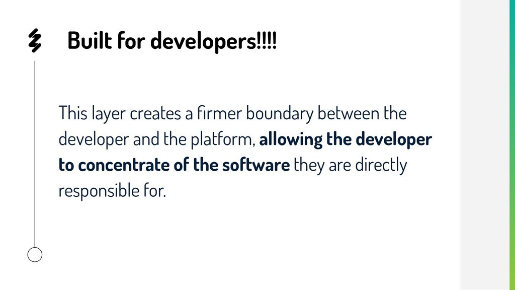 Built for developers!!!! This layer creates a fi...