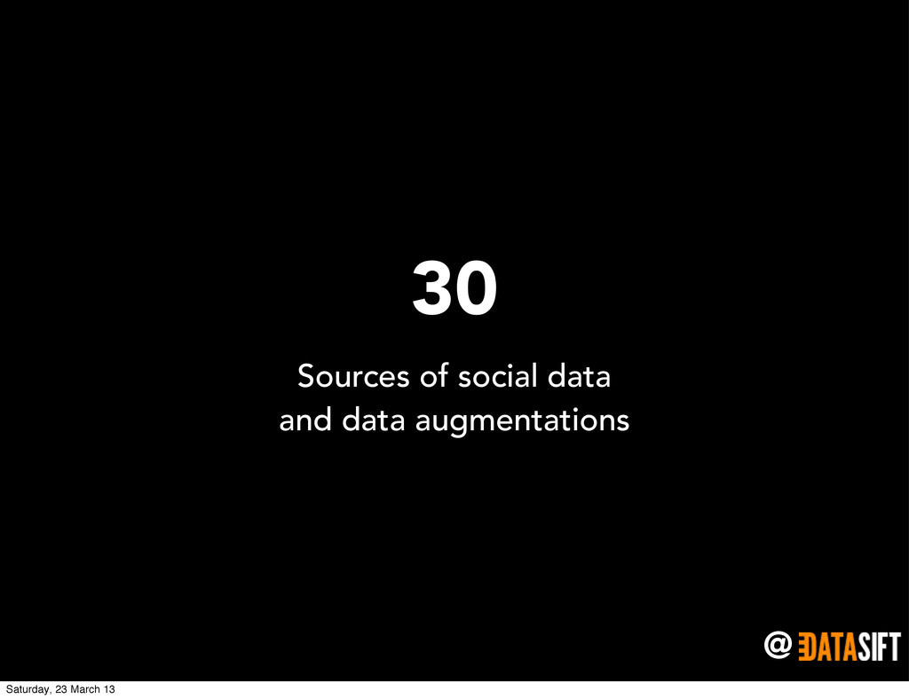 @ 30 Sources of social data and data augmentati...