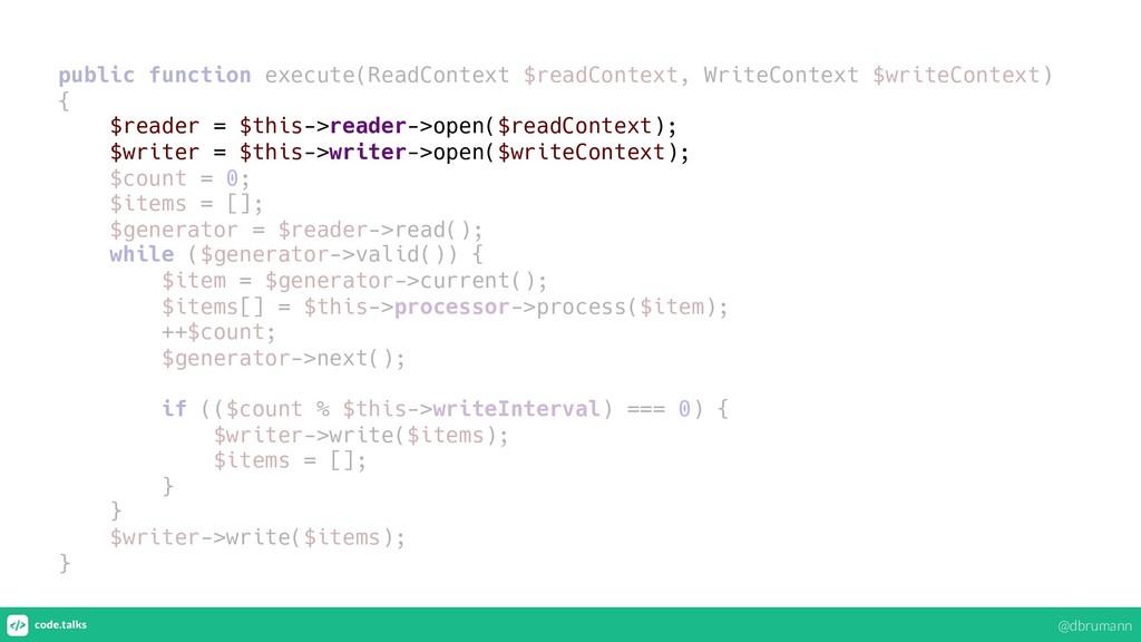 public function execute(ReadContext $readContex...