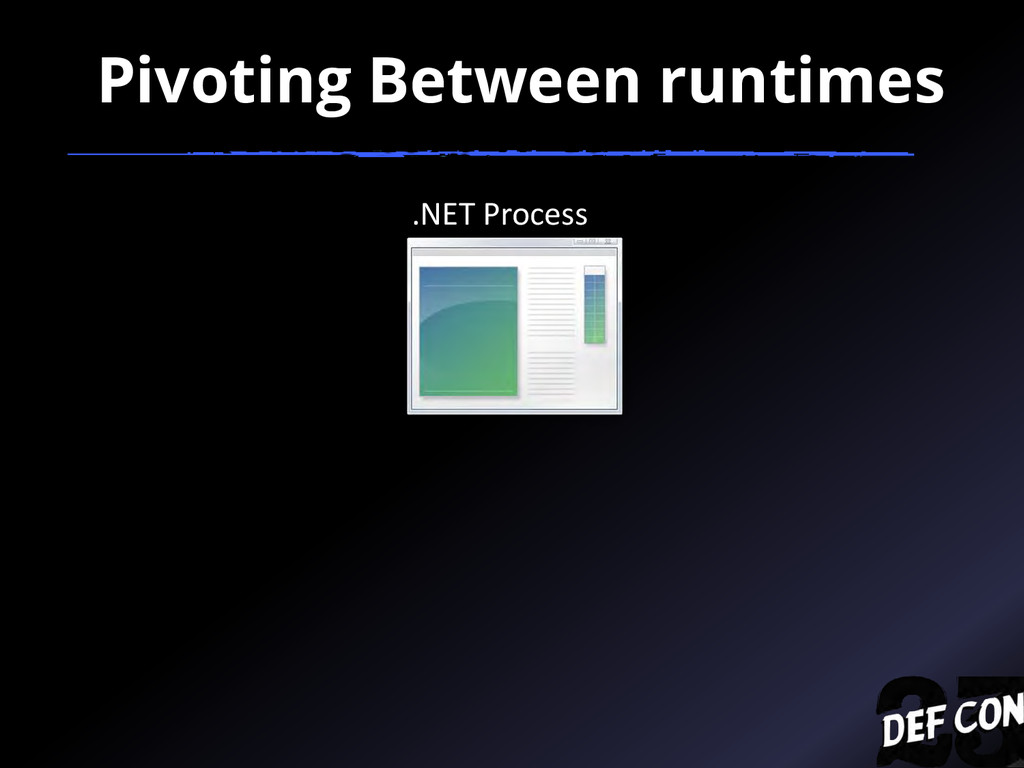 .NET Process Pivoting Between runtimes