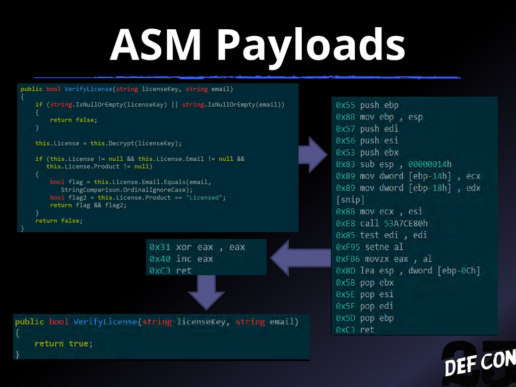 ASM Payloads