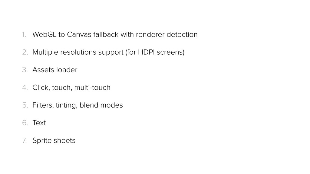 1. WebGL to Canvas fallback with renderer detec...