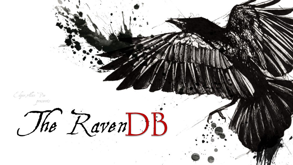Edgar Allan Poe presents The Raven