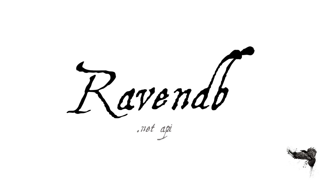 Ravendb .net api