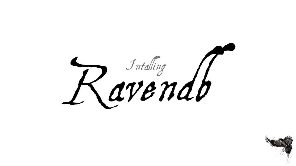 Ravendb Intalling