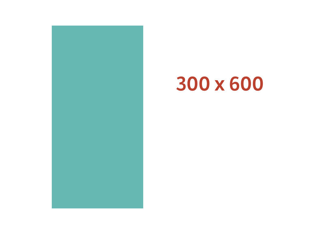 300 x 600
