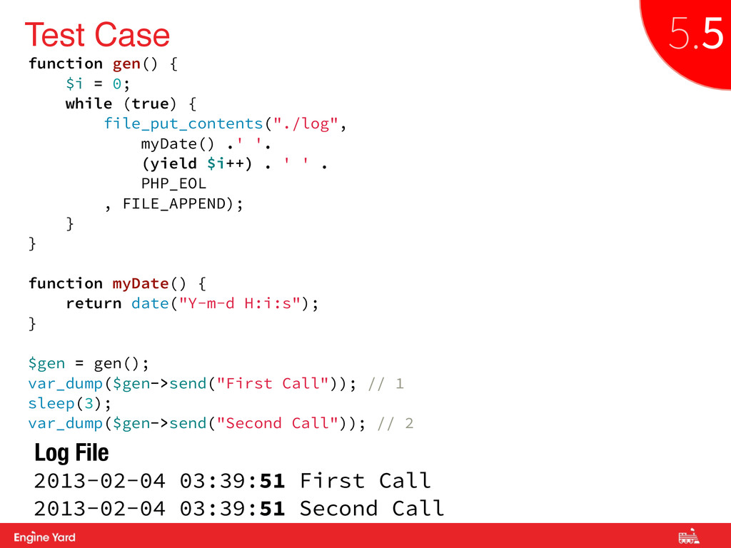 Proprietary and Confidential Test Case function...