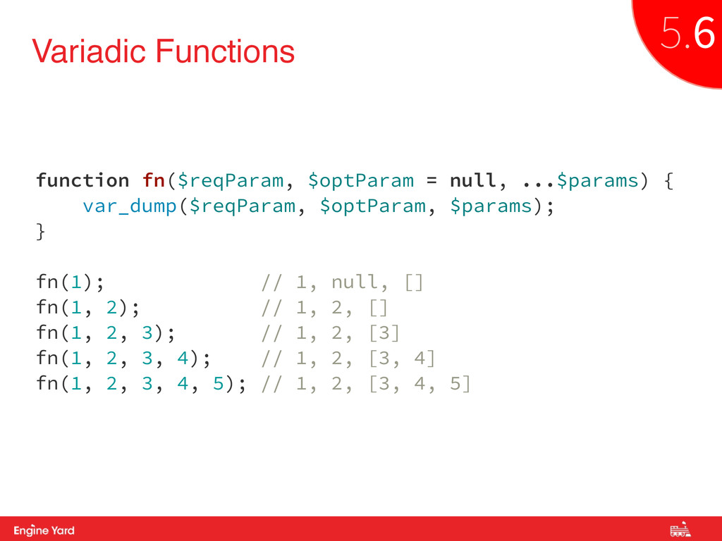 Proprietary and Confidential Variadic Functions...