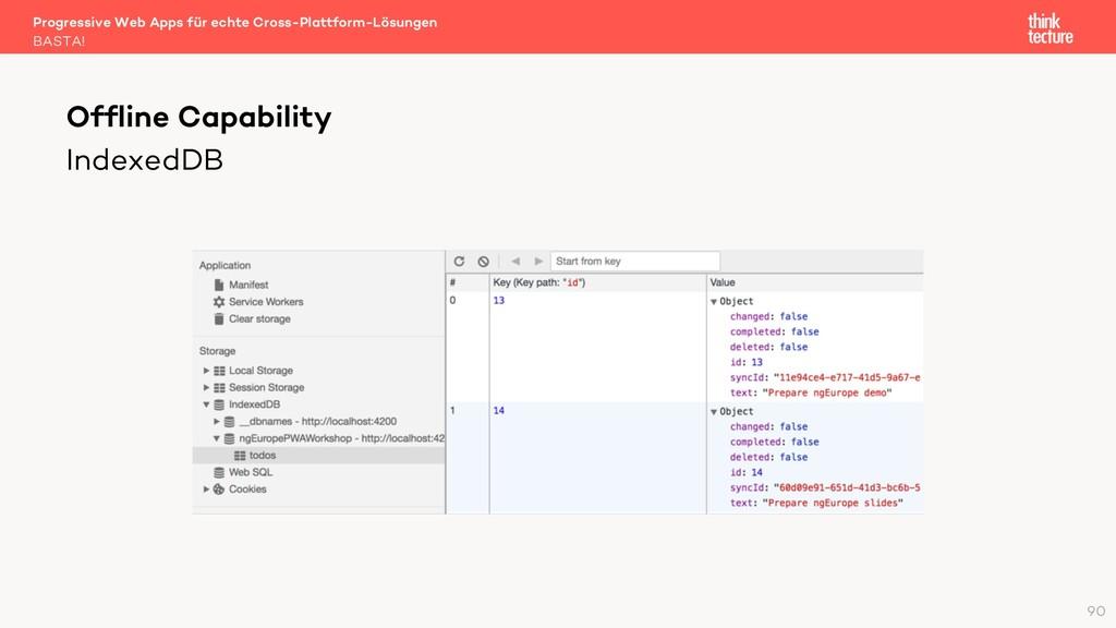 IndexedDB Progressive Web Apps für echte Cross-...