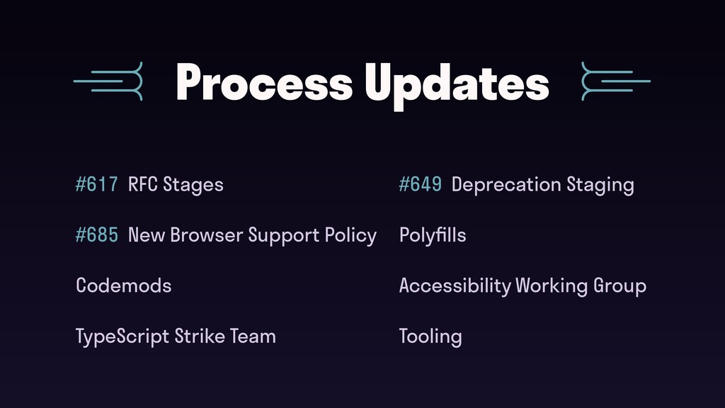 #617 RFC Stages Process Updates Accessibility W...