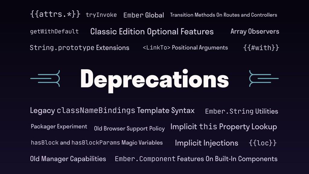 Deprecations getWithDefault tryInvoke String.pr...