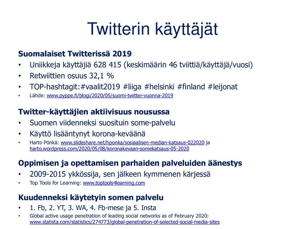 Suomalaisista 18 % käyttää Twitteriä AudiencePr...