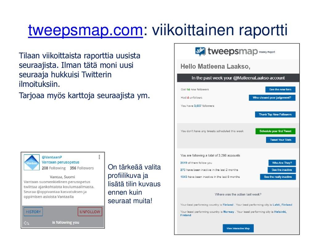 Tilastoa tietyn hashtagin käytöstä www.followth...