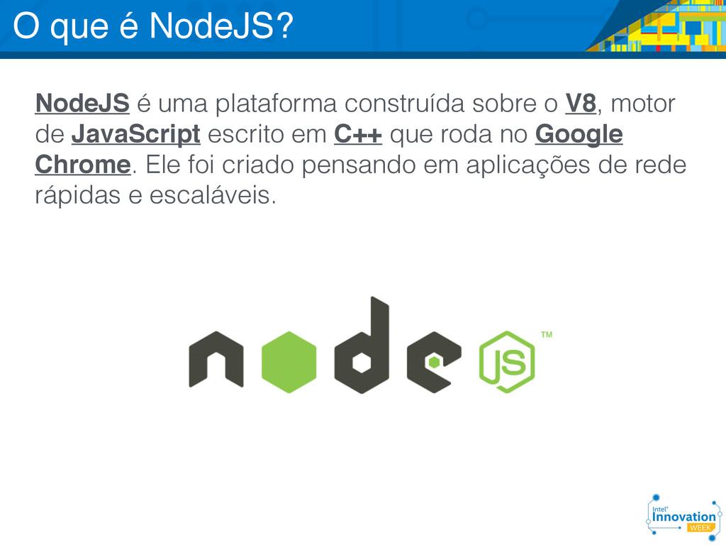 http://nodejs.org/ NodeJS é uma plataforma cons...
