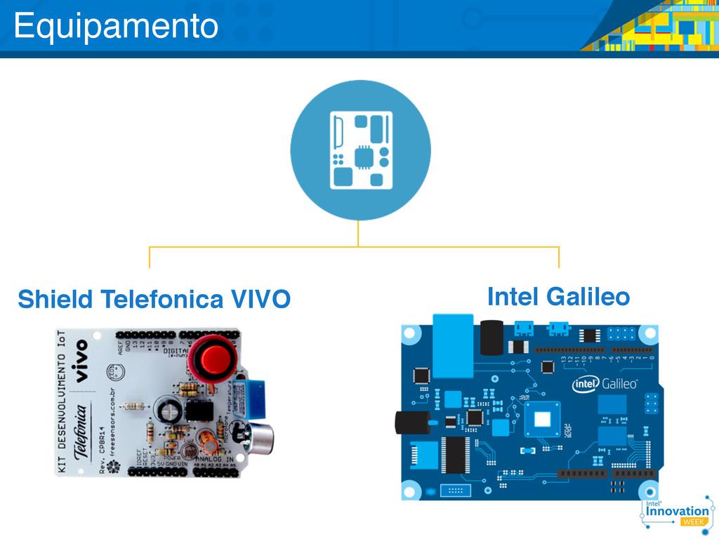 Shield Telefonica VIVO Intel Galileo Equipamento