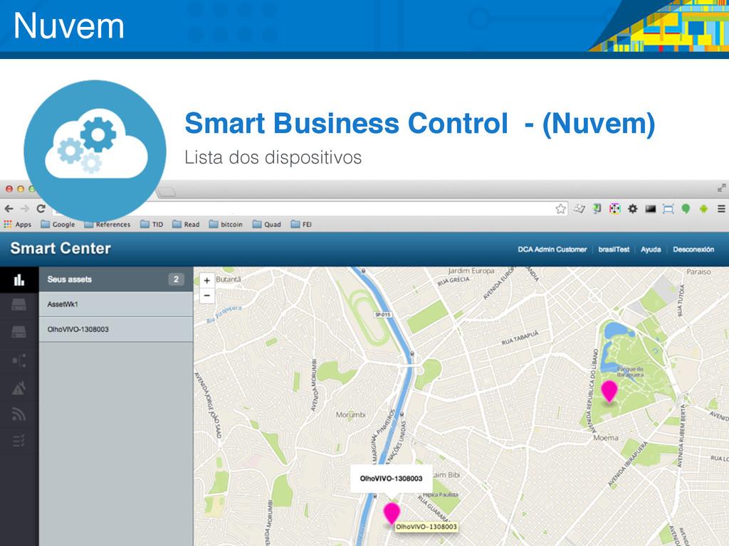 Smart Business Control - (Nuvem) Lista dos disp...