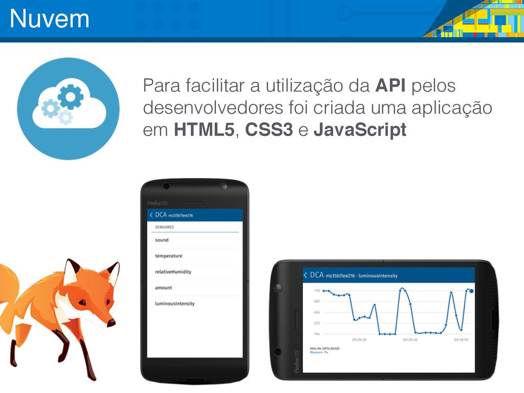 Para facilitar a utilização da API pelos desenv...