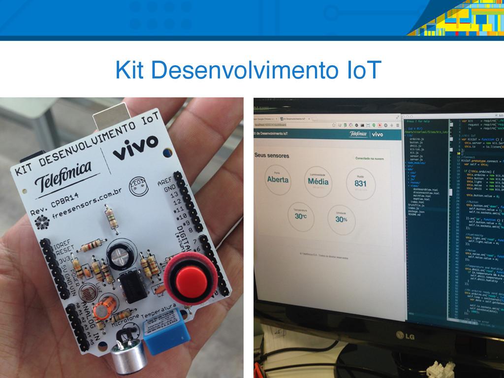 Kit Desenvolvimento IoT