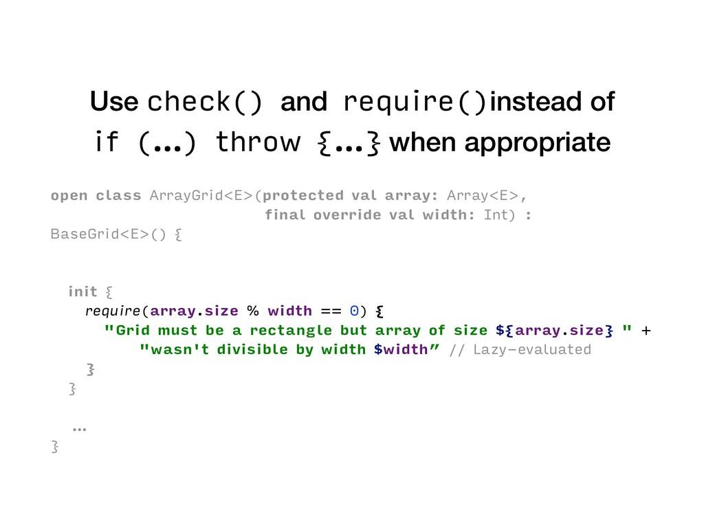 open class ArrayGrid<E>(protected val array: Ar...