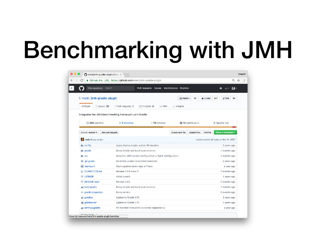 Benchmarking with JMH