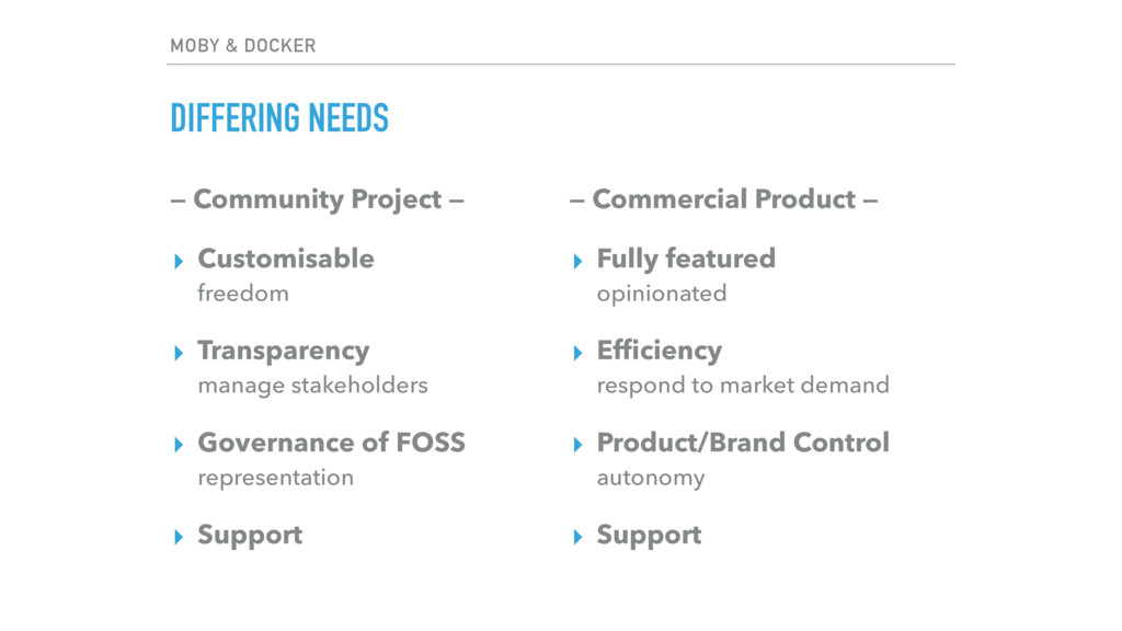 — Community Project — ▸ Customisable freedom ▸...