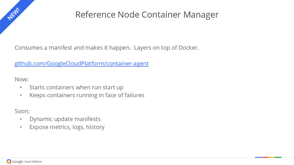 Reference Node Container Manager Consumes a man...