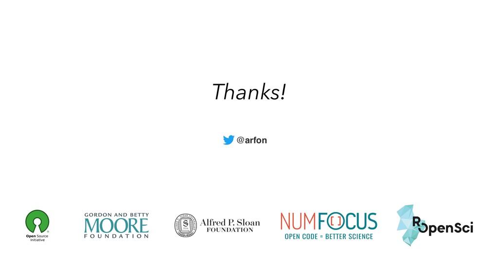 Thanks! @arfon