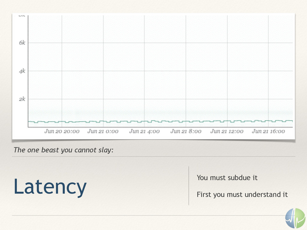 The one beast you cannot slay: Latency You must...