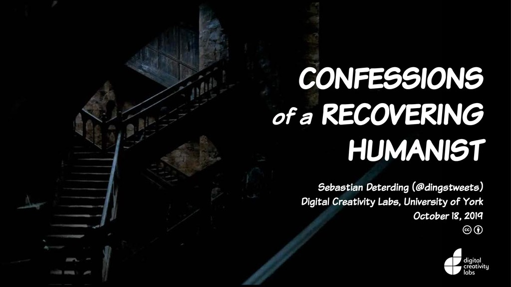 confessions of a recovering humanist Sebastian ...
