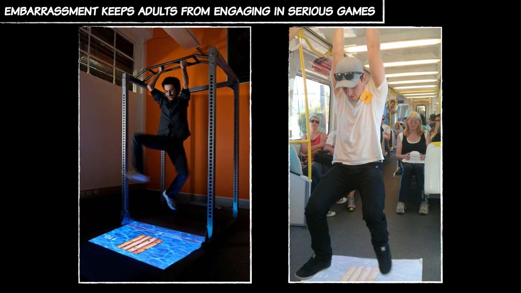 embarrassment keeps adults from engaging in ser...