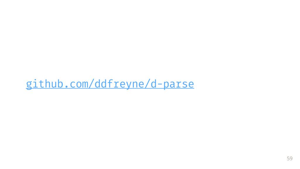 github.com/ddfreyne/d-parse 59