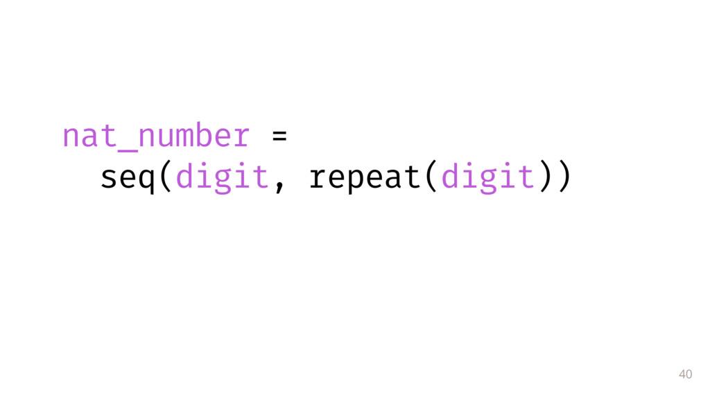 40 nat_number = seq(digit, repeat(digit))