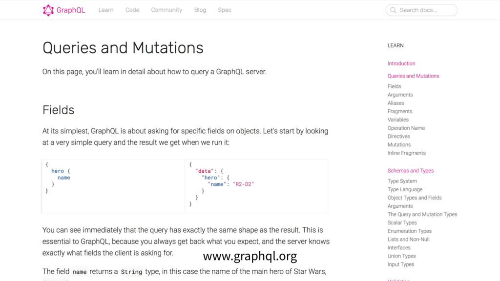 www.graphql.org