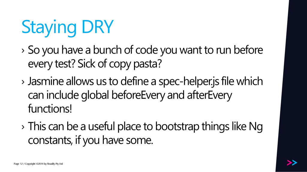 Page Staying DRY › So you have a bunch of code ...