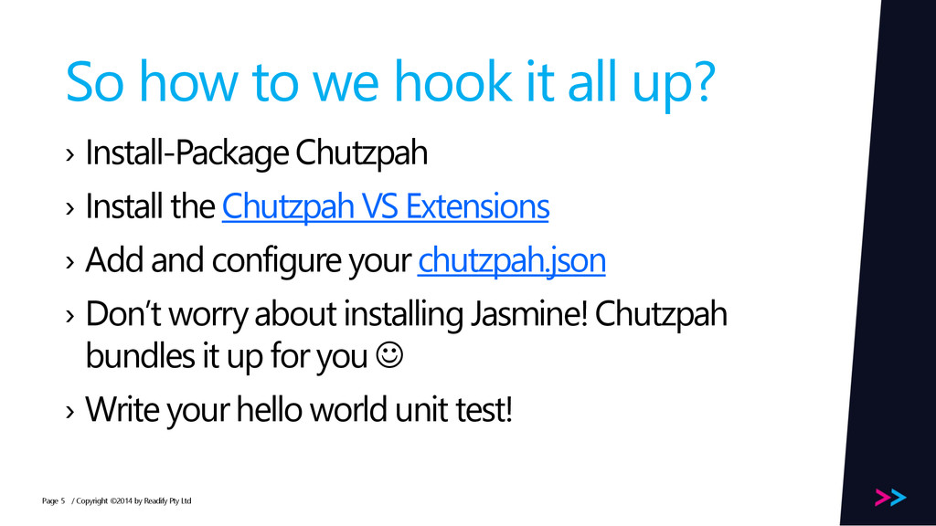 Page So how to we hook it all up? › Install-Pac...