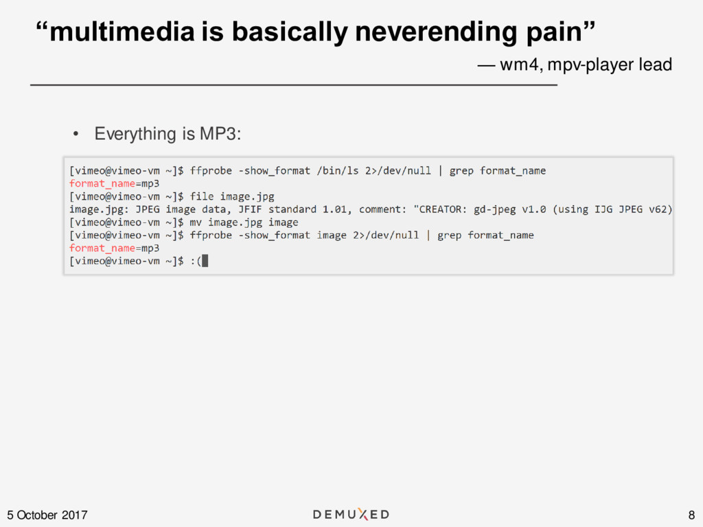 """8 5 October 2017 • Everything is MP3: """"multimed..."""