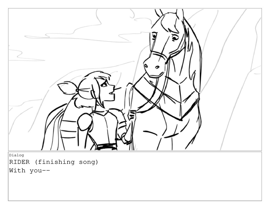 Dialog RIDER (finishing song) With you--