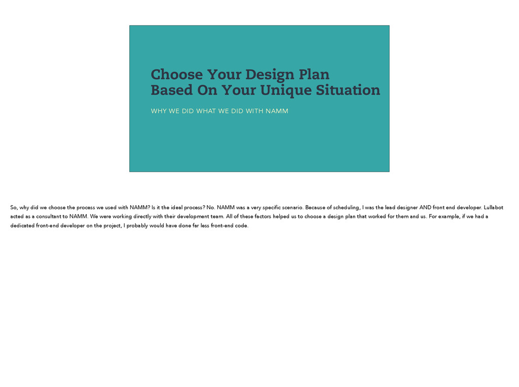 Choose Your Design Plan Based On Your Unique Si...