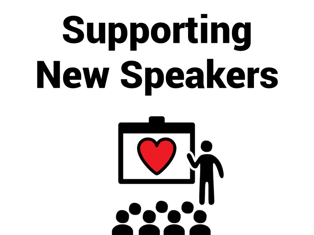 Supporting New Speakers
