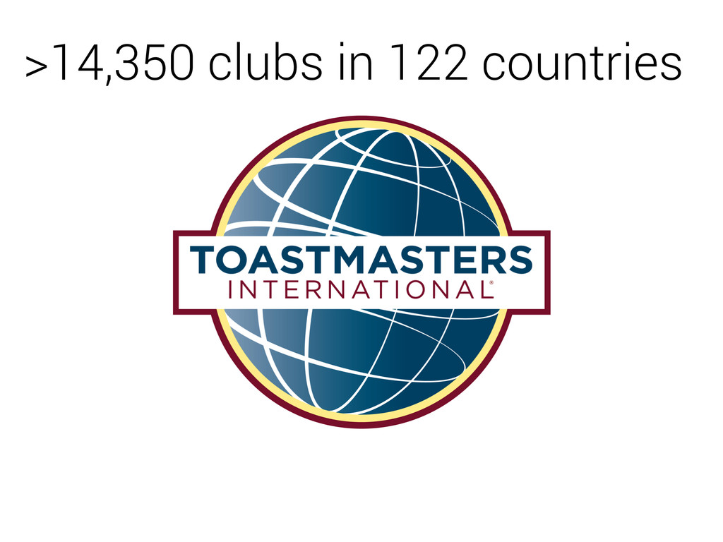 >14,350 clubs in 122 countries