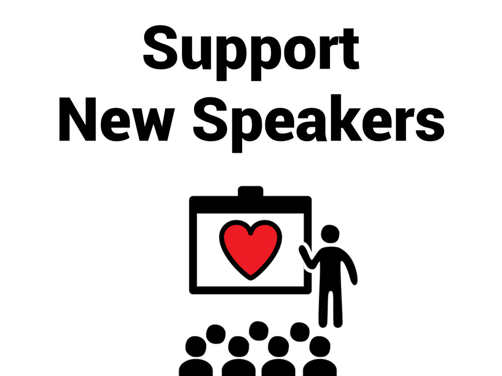 Support New Speakers