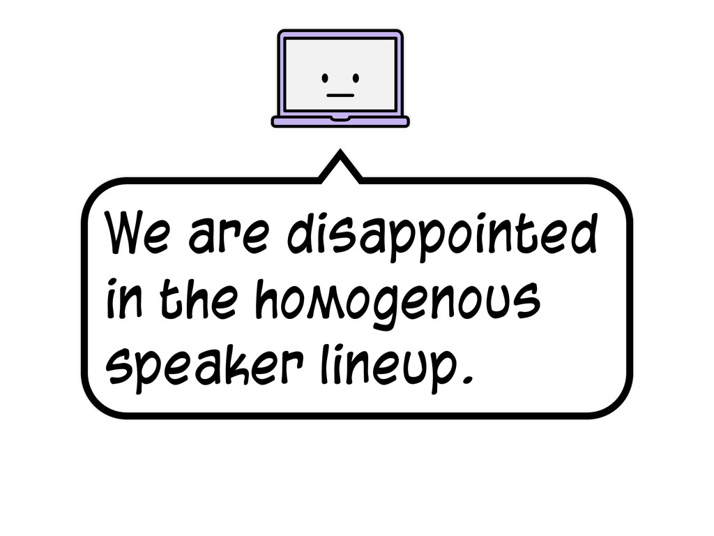 We are disappointed in the homogenous speaker l...