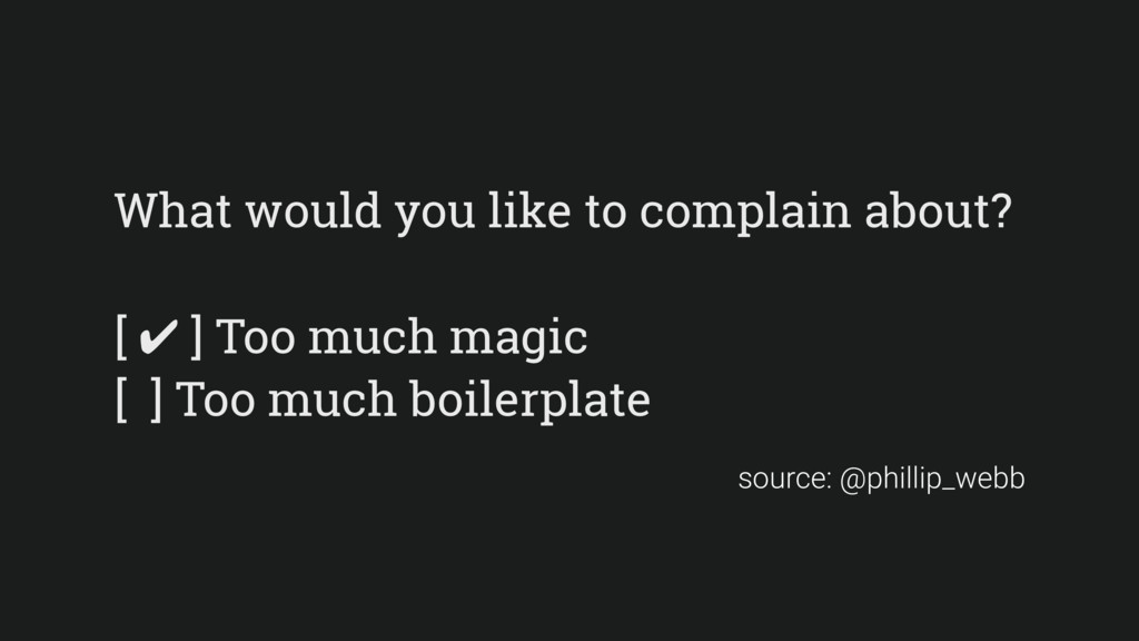 What would you like to complain about? [ ✔ ] To...