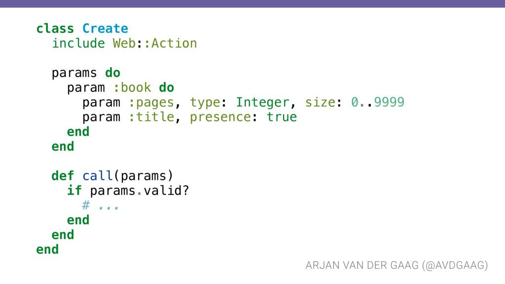 ARJAN VAN DER GAAG (@AVDGAAG) class Create incl...