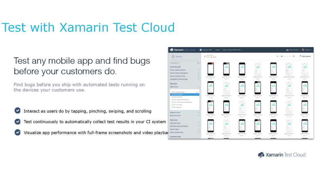 Test any mobile app and find bugs before your c...
