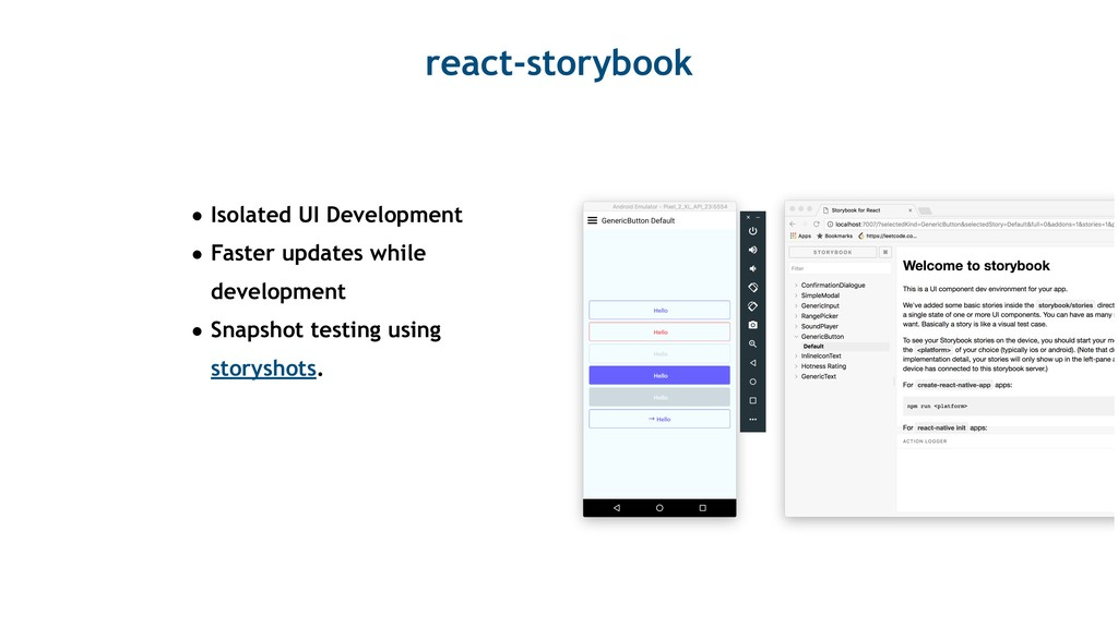 react-storybook • Isolated UI Development • Fas...