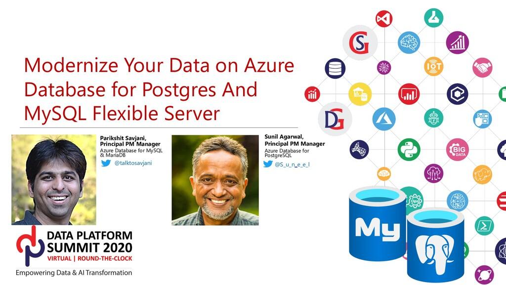 Modernize Your Data on Azure Database for Postg...